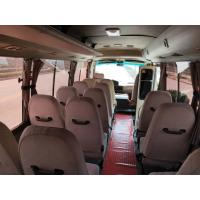 Cheap diesel / petrol 2015 2016 luxury mini coach used toyota coaster with 30seats for sale for sale
