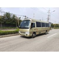 Cheap japan mini car 30seats 2016 2017 used Toyota coaster for sale with cheap price for sale