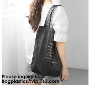 Cheap TYVEK BAGS, WATERPROOF TYVEK HANDBAG, TOTE BAG, DUPONT PAPER REUSABLE BAG, TYVEK FOLDABLE, TYVEK PAP for sale