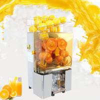 China Electric Orange Juicer Commercial Squeezer Machine Lemon Automatic Auto Feed Perfect for Drink Bar on sale