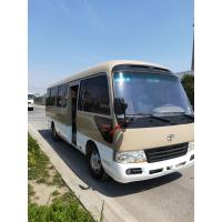 Buy cheap diesel / petrol 2015 2016 luxury mini coach used toyota coaster with 30seats for from wholesalers