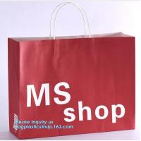Cheap LUXURY PAPER CARRIER SHOPPING BAGS, LUXURY PAPER BAGS, LUXURY SHOPPING BAGS, KRAFT PAPER WINE BAG for sale
