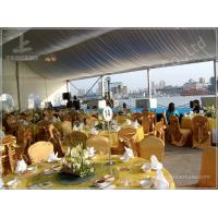 Cheap 15X20 200 Seater Luxury Wedding Tents A Frame Shape 100 Km/H Wind Resistance wholesale