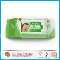 Cheap Fragrance Biodegradable Baby Wet Wipes 80 Sheets with Flip Lid for sale