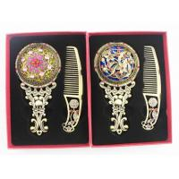 Cheap cheap vintage makeup mirror and comb set for sale