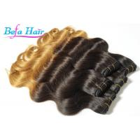 Cheap Body Wave 20 Inch Black To Blonde Ombre Hair Extensions Peruvian Ombre Hair Bundles wholesale
