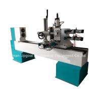 Cheap Turning Broaching Engraving Wood Lathe Machine with Double Axis Double Blade for sale