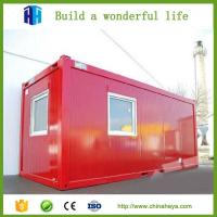 Cheap Mobile Home Cabin expandable low cost prefab container house 20ft for sale for sale