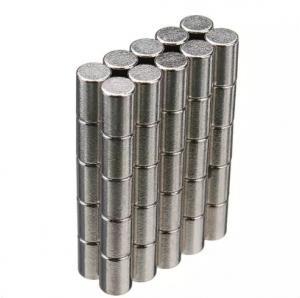 China Neodymium Magnets Cylinder shape Permanent Neodymium Magnets By Strong Neodymium Iron Boron on sale
