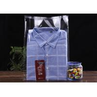 Cheap 200*300MM+30MM Retailing Clear Plastic OPP Bag / Cloth Self Adhesive Bag for sale