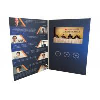 Cheap Innovative  communication solutions 4.3inch tft screen paper  custom printed video brochure video greeting  card for sale