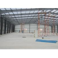Cheap Space Durable Steel Warehouse Construction Environmental Friendly 40 Years Lifetime for sale