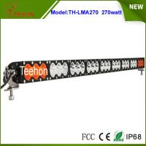 Cheap Wholesale price offroad 12v 24v 270w amber/white color led light bar for led warning light for sale