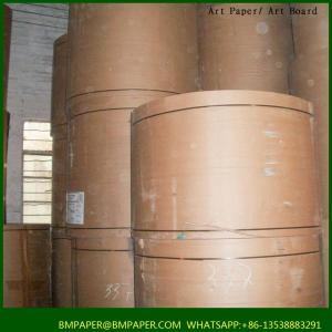 China BMPAPER kraft paper stocklot/liner board supplier/brown craft paper liner on sale