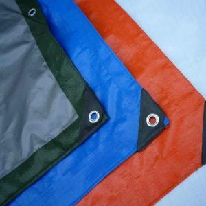 Cheap Waterproof PE Tarpaulin Sheet / Polyethylene Sheet Roll Ground Cover for sale
