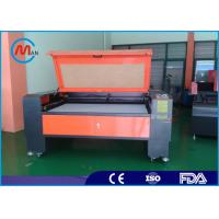 Cheap 220V 50HZ Laser Fabric Cutting Machine 2200mm x 1600mm Automatic Speeding System for sale