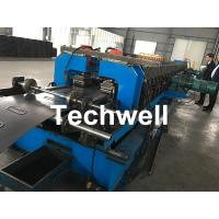 Cheap 1.5-2.5mm Carbon Steel Cable Tray Roll Forming Machine With 5 Ton Hydraulic Uncoiler for sale
