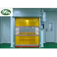 Cheap Speed Shutter Rolling Door Air Shower Tunnel Powder Coating Painting For Cargo for sale