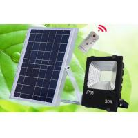 Buy cheap MarsFire 30W 5730 led solar flood light, 6V 15w polysilicon led rechargeable 5000k solar light from wholesalers