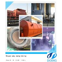 China High output scrap tyre recycling to oil machine on sale