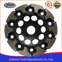 Cheap 125mm T Segment Diamond Cup Grinding Wheel For Concrete Metal Bond Material for sale