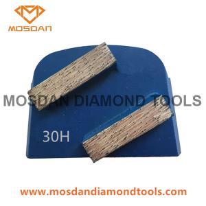 Cheap Lavina Quick Change Concrete Floor Diamond Grinding Double Bars Segment for sale