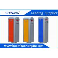 Buy cheap 3-6s Red Color Car Parking Barrier Gate , Electronic Retractable Barriers from wholesalers