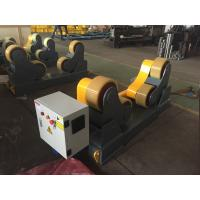 Cheap Self Aligned Pipe Turning Rolls Pipe Welding Rollers 350 X 120mm Rubber Wheels for sale