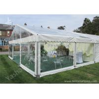 Cheap Transparent PVC Fabric Cover Outdoor Luxury Wedding Tents with Aluminum Frame wholesale