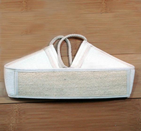 Quality loofah belt bath sponge body scrubber wholesale