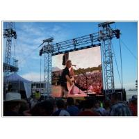 Cheap Rental Full Color Video Wall Led Display , LED Video Screen For Advertising wholesale