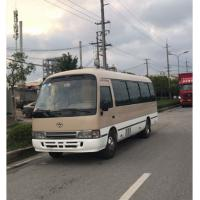 Cheap Toyota Coaster Used passenger bus with 30 seats, used cars with diesel engine for sale for sale