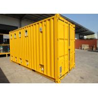 Cheap Insulated Cargo ISO Modified Shipping Containers Garage For Public Washroom for sale