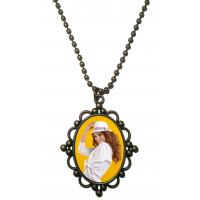 Buy cheap Sublimation Metal Dog Tag Necklace Chain For Man Restoring Ancient Ways from wholesalers