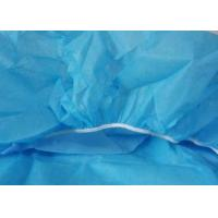 Quality Clinic Disposable Surgical Drapes Blue Bed Covers With Elastic Fitted Bed Sheets wholesale