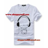 Buy cheap DJ Cartoon Music Creative Couple T Shirts from wholesalers