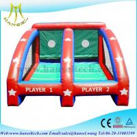 Cheap Hansel inflatable sports games basketball,inflatable ball games for kids for sale