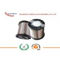China 0.6mm CuNi30Mn Copper Nickel Alloy Wire , Copper Nickel Strip for Thermal Overload Relay on sale