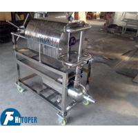 Cheap Stainless Steel Plate Frame Chemical Filter Press For Solid Liquid Separation for sale