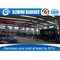 Cheap 50Mn Steel Material Three Row Roller Slewing Bearing , Wind Turbine Yaw Bearing wholesale