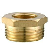 Cheap Brass reduced nipple/Brass reducer/Brass reducing nipple/OEM precision brass hose screw fitting/Hose connector for sale