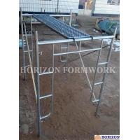 Buy cheap Open End Frame Scaffolding System of Height 1930mm with Steel Stairs from wholesalers