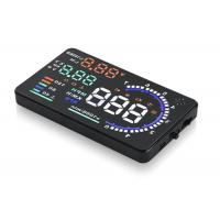 China Honda / Toyota / Audi A7 Heads Up Display , A8 5.5 Inch Obd Ii Car Hud Head Up Display on sale