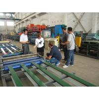 China Steel Texture Indoor Partition Construction Material Making Machinery 1cm - 15cm Thickness on sale