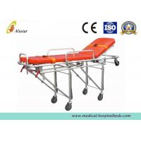Cheap Aluminum Alloy Folding Hospital Ambulance Stretcher Trolley Automatic Loading Stretcher ALS-S006 for sale
