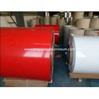 China Flat RAL 9003 Color Coated Aluminum Sheet Use For Whiteboard Manufacture on sale