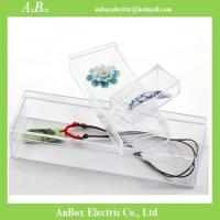 Cheap Cheap price high transparent PS material plastic packaging box with cover and bottom for sale