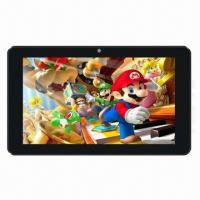 Cheap 7-inch Tablet PC, RK3066 Cortex A9 Dual Core 1.6GHz, GPU Mali400 Quad Core, High Performance for sale