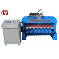 China Strong Roof Tile Roll Forming Machine Waterproof Metal Roof Panel Machine on sale