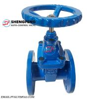 Quality CAfire Ductile iron 6 inch water gate valve cast iron wholesale